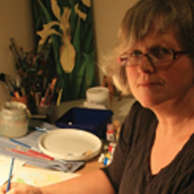 Team member Deborah Hinde